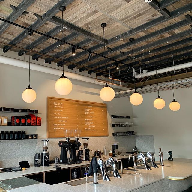One of Sydney's first Coffee mod bars powered and lit up by Switchcom! ☕️ A coffee system completely under bench in separate modules for the perfect cup !
