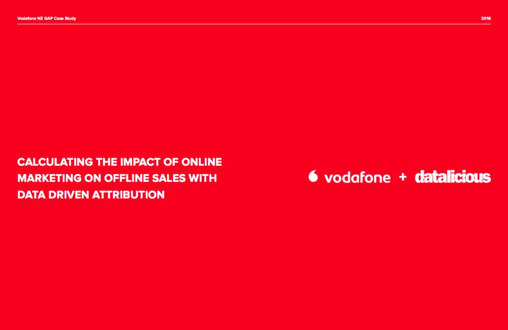 Vodafone NZ Case Study