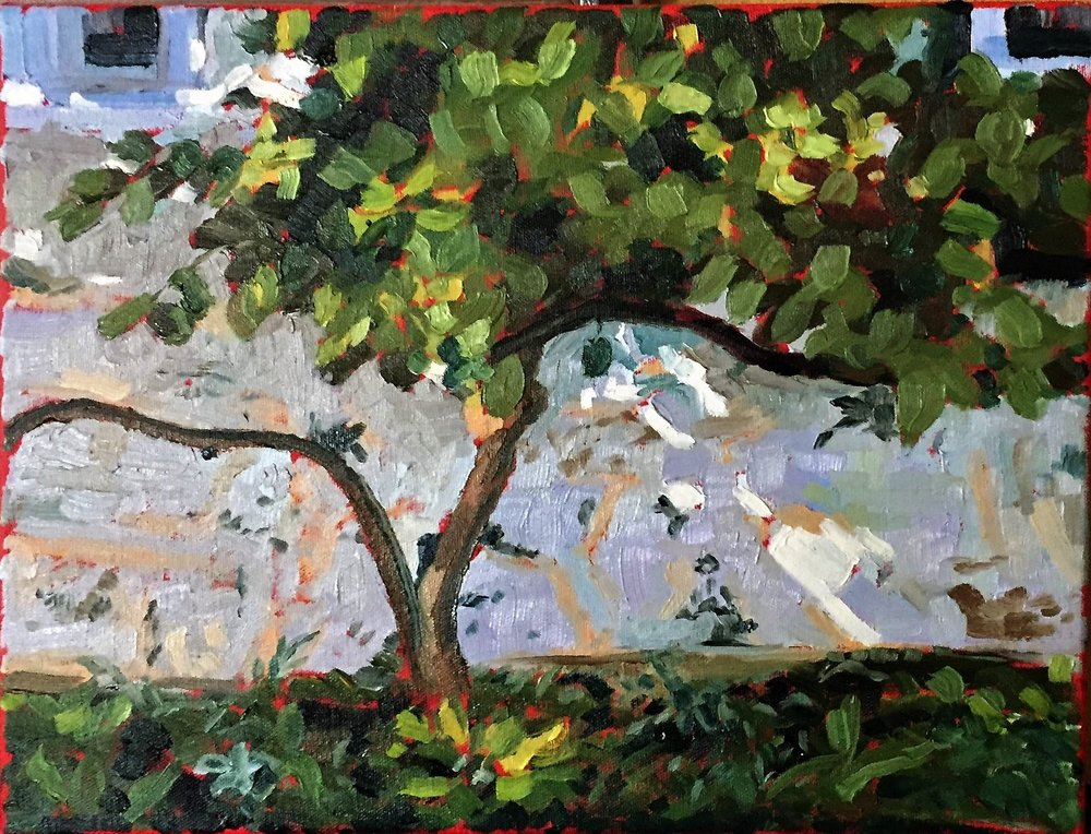 TOM SMITH  - Wauwatosa, WI   At Oak Spring   oil on canvas