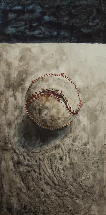 T. ALEXANDER MARTIN  - Chicago, IL   Lost Dream   watercolor on panel