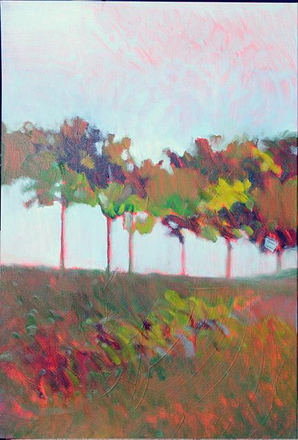 MICHAEL FOWLER  - North Augusta, SC   Autumnal Resonance   oil on canvas