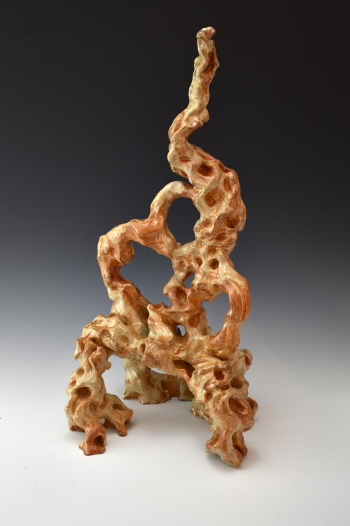 NICHOLAS ECKMAYER  - New Lenox, IL   Scoliopareidolia   stoneware