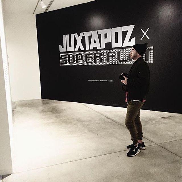 Art is cool. @juxtapozmag x #superflat  @ VAG . . . . . . . . . 📸 @ez.naive