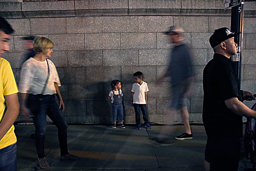Sophia Wang's photograph 'Nice to Meet You' appears in Issue 1 of Beijing Youth Literary Review.
