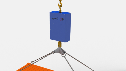 ABOUT   YawSTOP helps save lives, time and money for everyone operating suspended cargo.