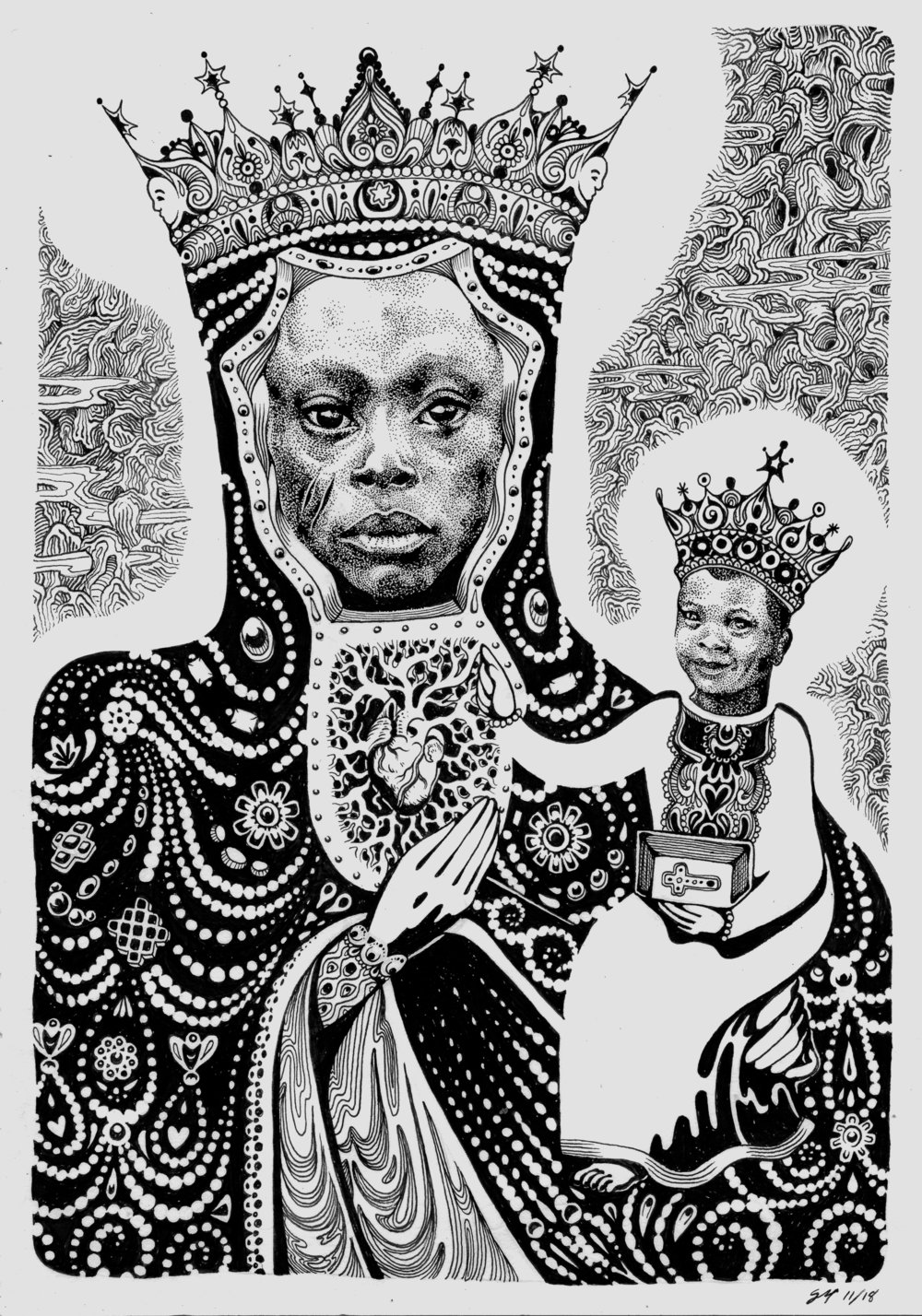 BLACK MADONNA, OUR LADY OF THE MYSTERY