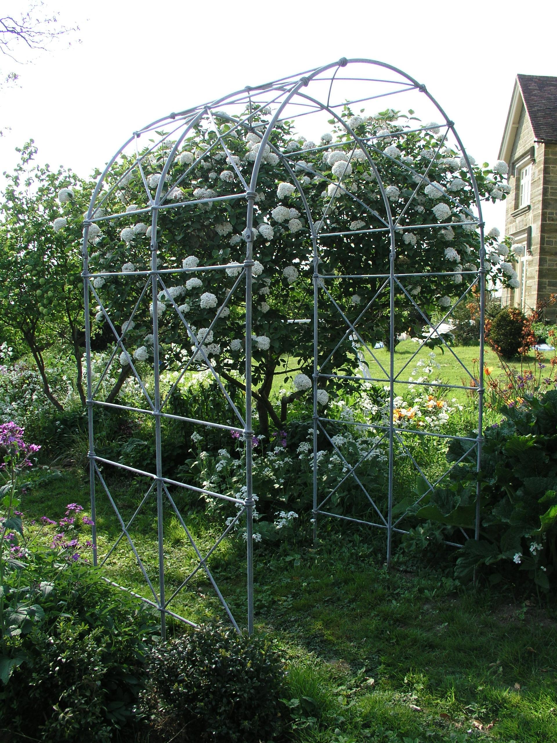 Traditional Double Bay Garden Arch ...