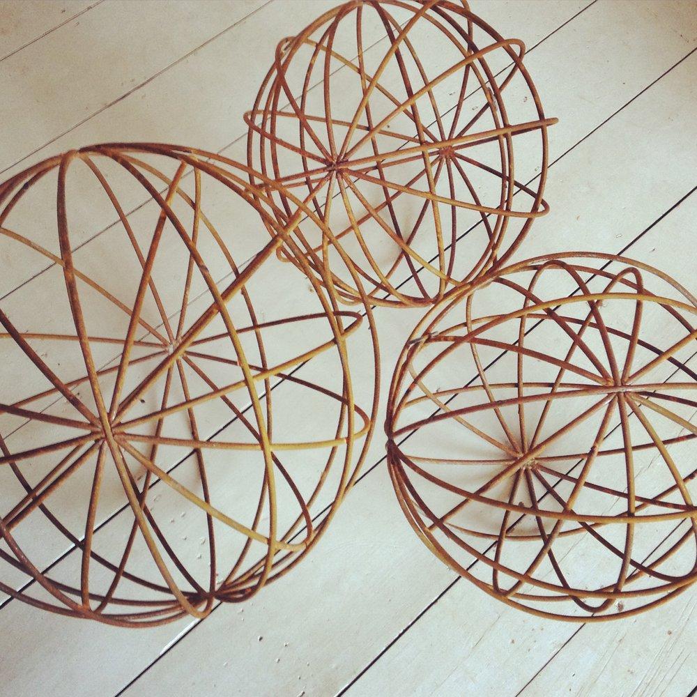 Greenwich Meridian Spheres