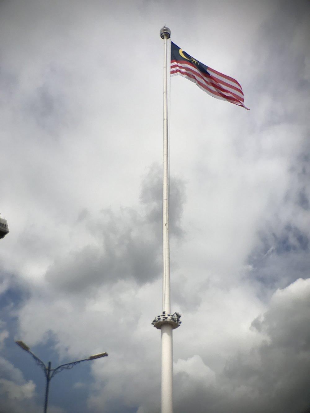 Merdeka Square, Malaysian Flag