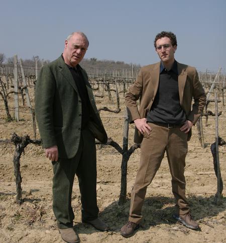 Father and son: Sandro and Filippo Chia