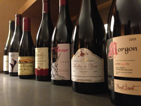 Our line-up of joyous, girly girl Beaujolais