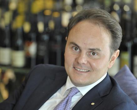 Matteo Lunelli, chairman of Ferrari