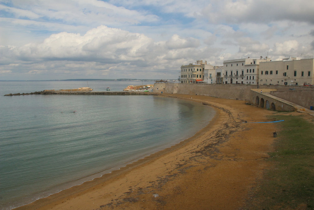 A beach in gallipoli, deserted in October
