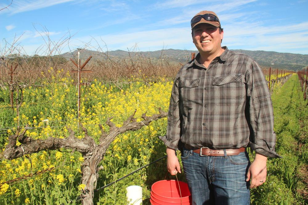 Brendan Brambila, Director of Viticulture at Trefethen