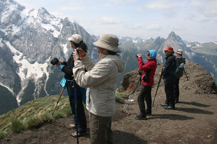 alps & dolomites hiking tour