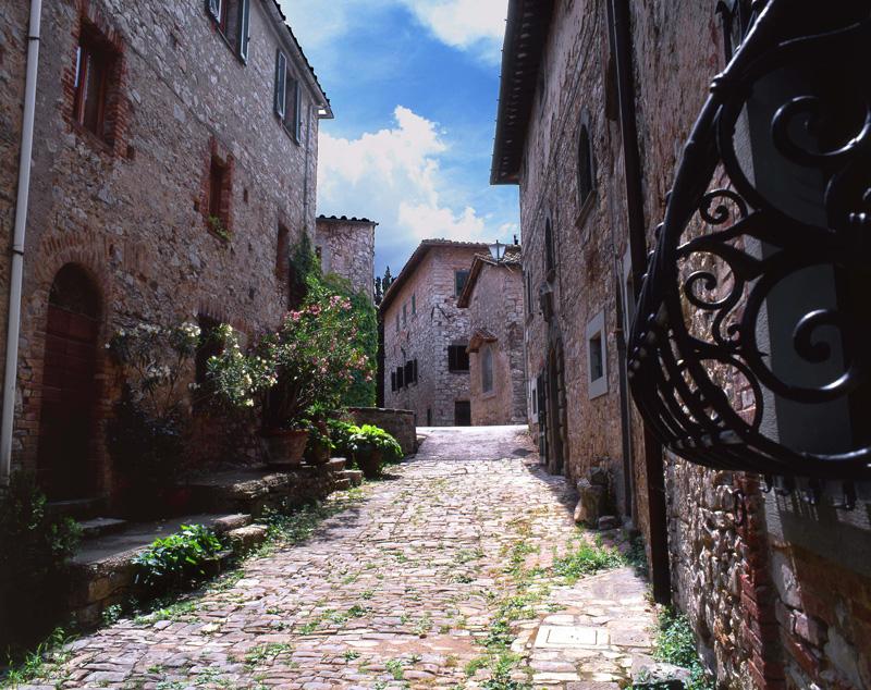 The borgo of Fonterutoli