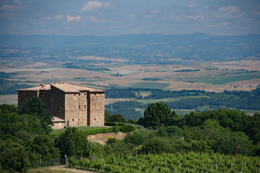 Castello Romitorio in Montalcino
