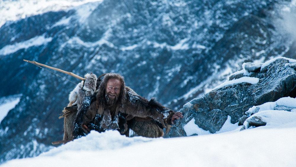 Ötzi in pursuit.