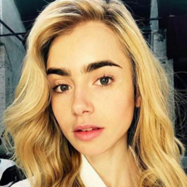 Actress Lily Collins recently swapped her brown hair for this on-trend Dirty Blonde look.