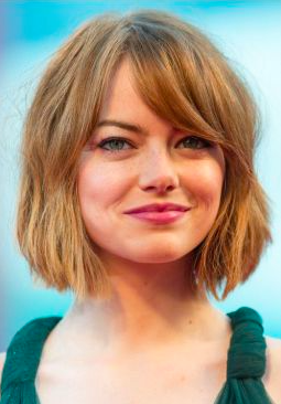 When you're growing out your hair it can feel painstakingly slow, and there's nothing worse than that in between stage when you feel like you're neither one style nor another.  Picture: Actress Emma Stone.