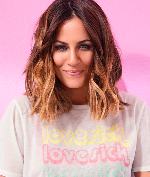 It's only been a few days and we're already obsessed with  Love Island  - and presenter Caroline's Flack soft, loose waves.  Click  here  to see how to recreate the look.