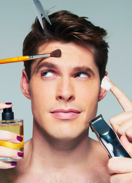 It's National Men's Grooming Day - Men's Grooming Day encourages men to make the most of themselves through hair styling, skincare and investing in male grooming products. Gone are the days that 'borrowing' from a spouse was acceptable! Find out more about men's grooming tips here.