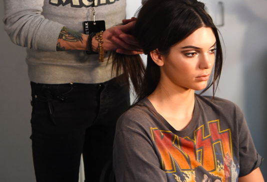 Model Kendall Jenner gets regular haircuts.