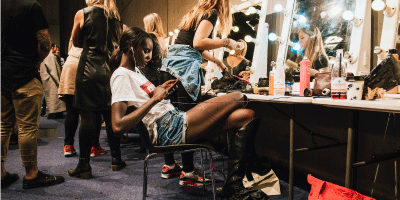Back Stage NTFW