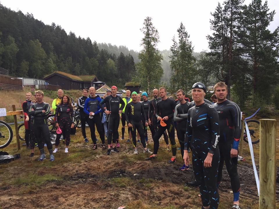 Før startskuddet på Bortelid Triathlon 2017