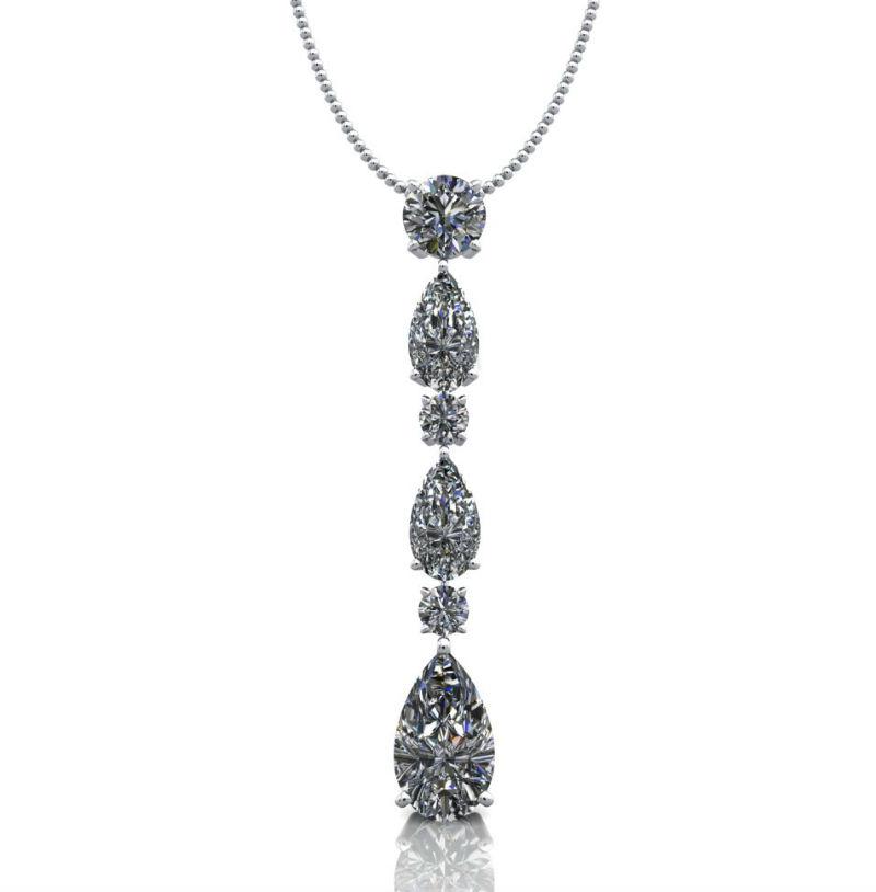 Diamond 'Forever' Pendant