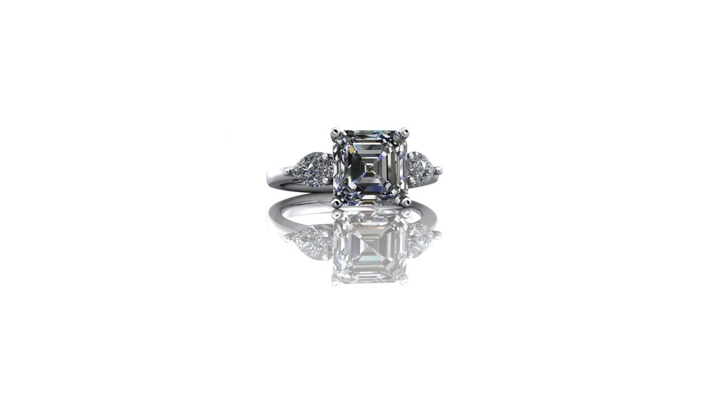Stunning Trilogy Ring by Christopher Stoner