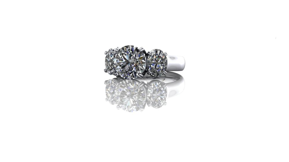 Trilogy Ring by Christopher Stoner