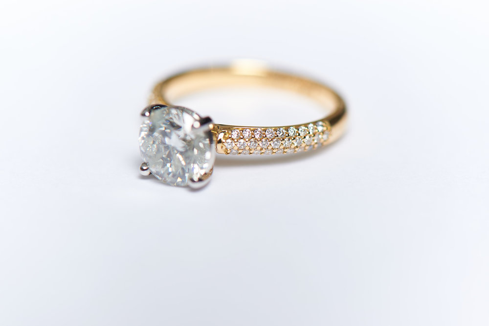 4. Expert goldsmiths create your unique ring - You can sit back and relax as your bespoke, beautiful ring is created. You are sent weekly updates as your stunning engagement ring takes shape in our workshop by our team of talented Goldsmiths.