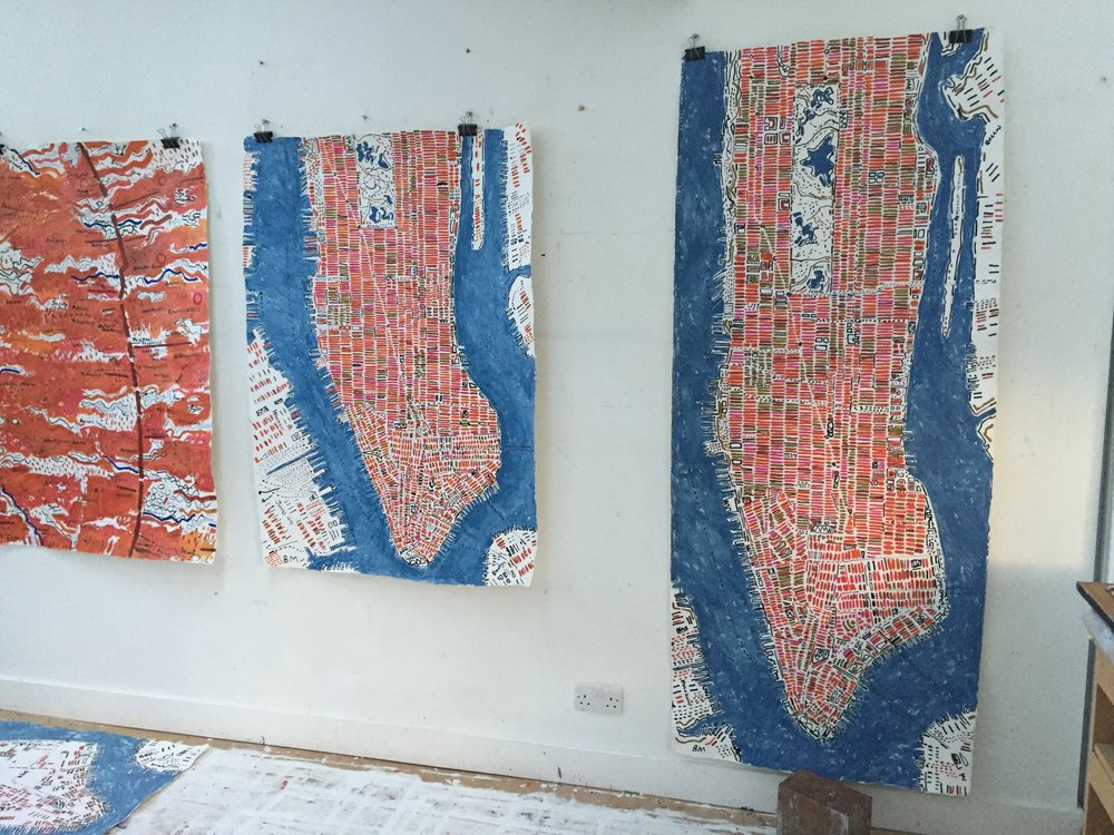 Barbara Macfarlane_Manhattans drying in the studio (2).JPG