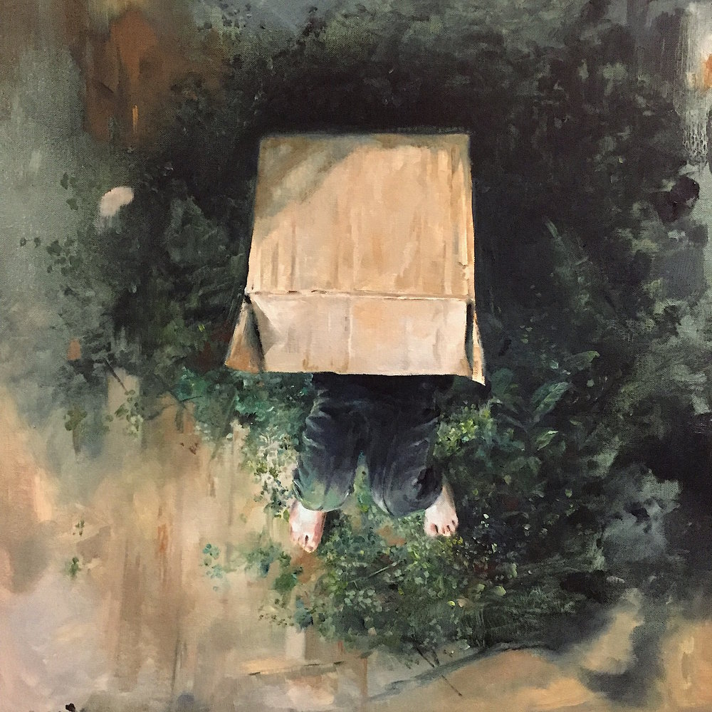 The Box 2016 Oil on canvas 40X40.JPG