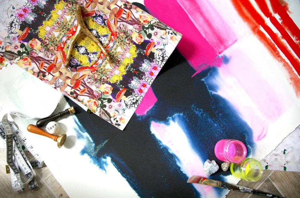 Kristi Kohut's studio