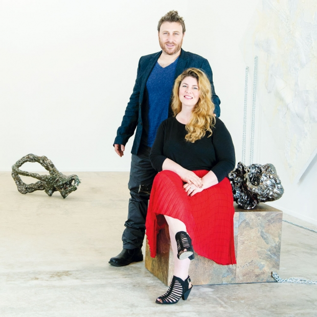 Erin and Justin Nathanson: curators and art dealers in Charleston, SC