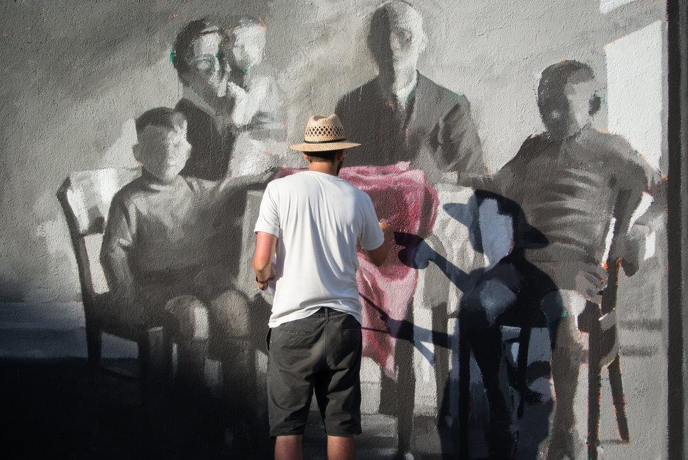 Mural at Poble Nou - Barcelona 2016 (Photo by Albert Guasch).jpg