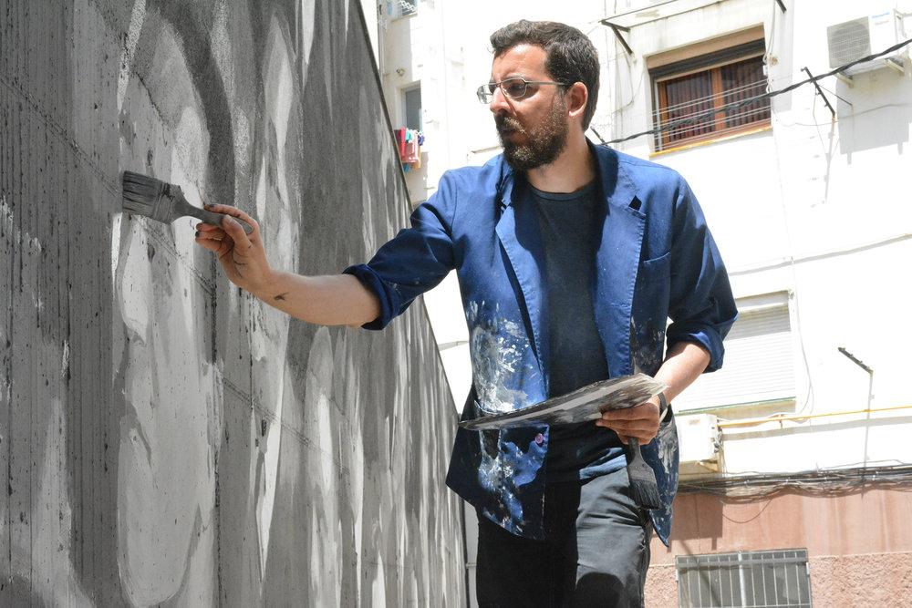 Mural at Poble Nou - Barcelona 2017 (Photo by Vadim Surgunovi).jpg