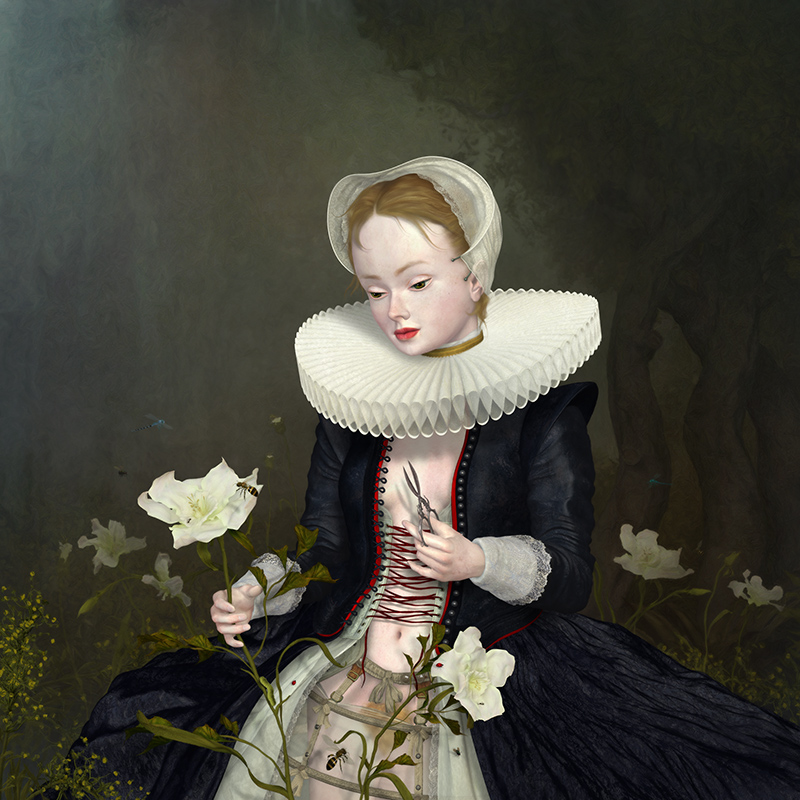 "Ray Caesar, Helios, Digital Ultrachrome print on archival paper, edition of 10 36"" x 36"", April 2018.jpg"