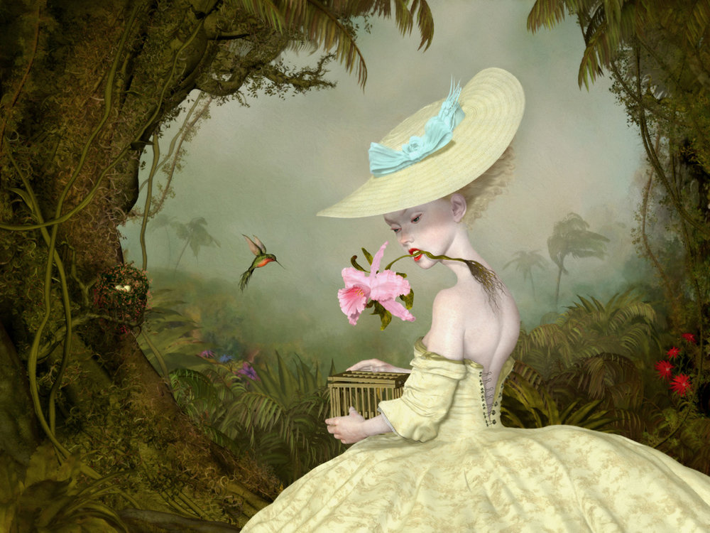 "Ray Caesar, The Collector, Digital Ultrachrome print on archival paper, edition of 20 40"" x 30"", April 2018.jpg"