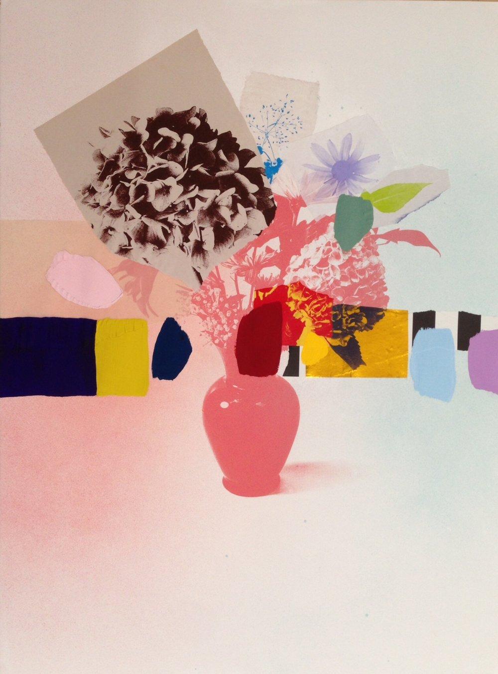 Paper Bouquet (brown + coral hydrangea) - 22x30.JPG