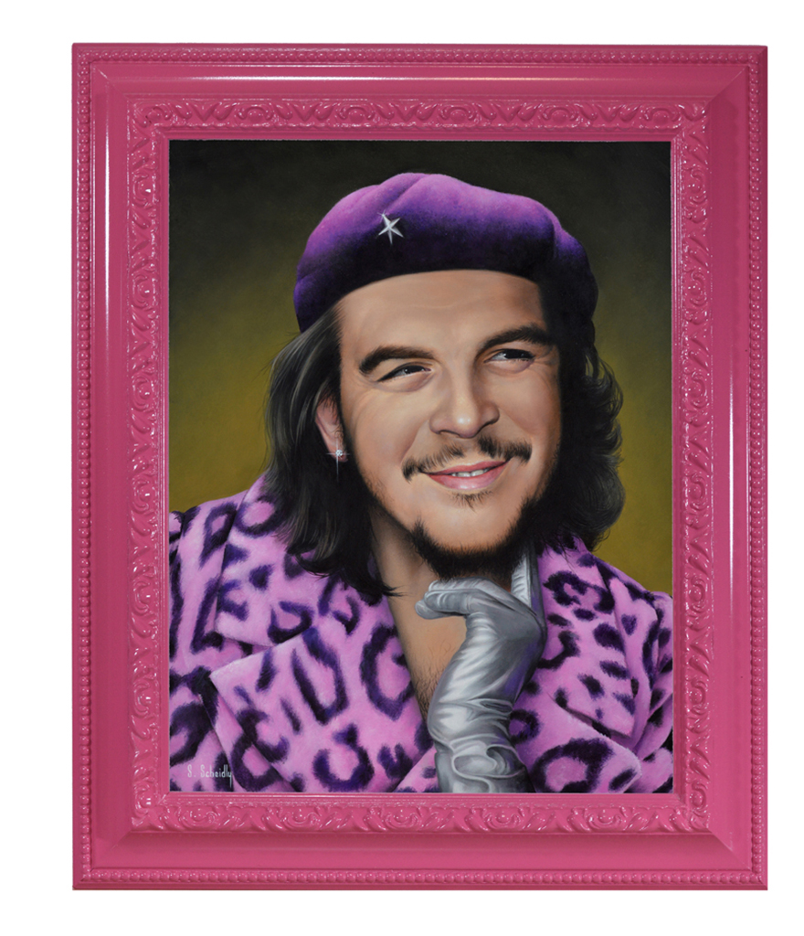 Scott Scheidly, Che Guevara (framed), 2018.jpg