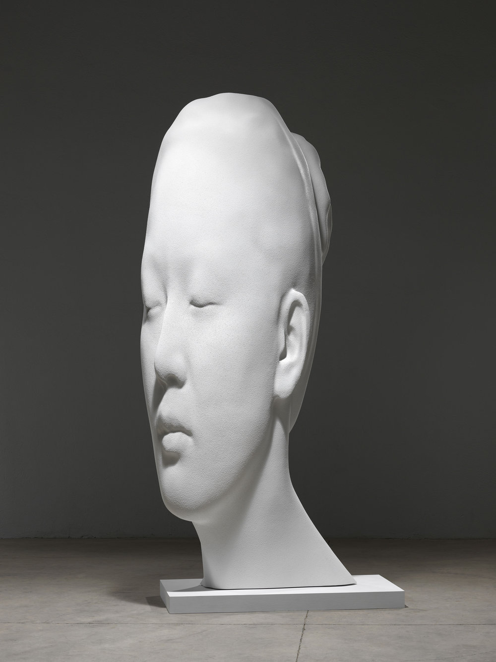 Jaume Plensa,  Laura Asia in White , 2017. Courtesy the artist and Richard Gray Gallery. Image by Gasull Fotografia, Plensa Studio Barcelona.