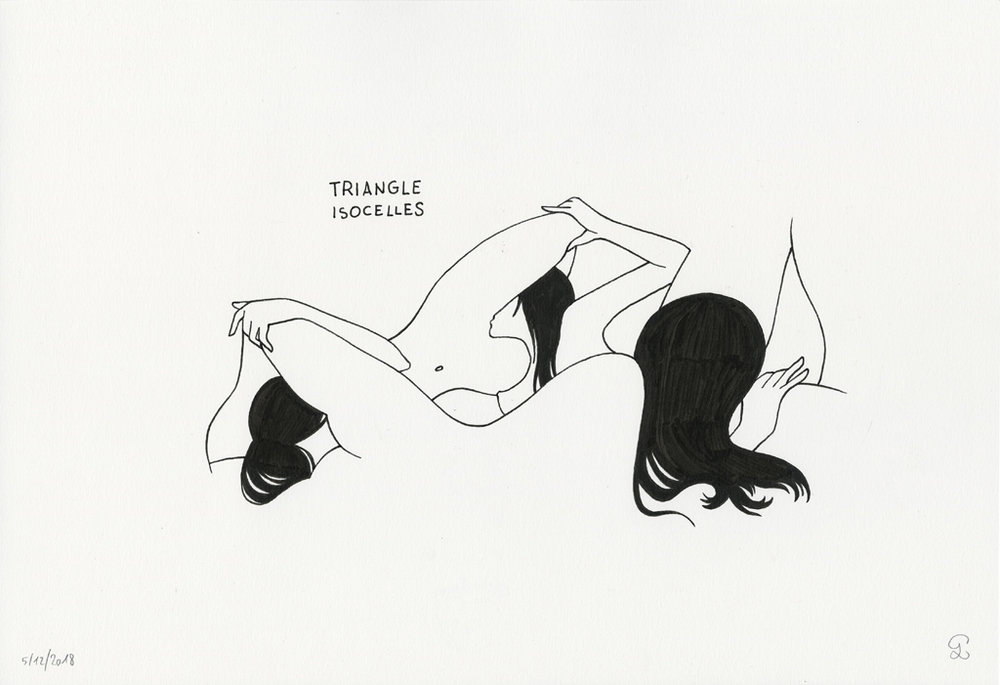 Petites Luxures, Triangle Isocelles, 2018.jpg