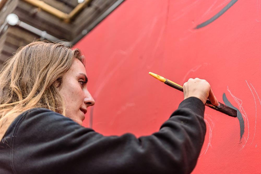 Mural program, Moniker London 2015. Photo courtesy of Moniker Art Fair.