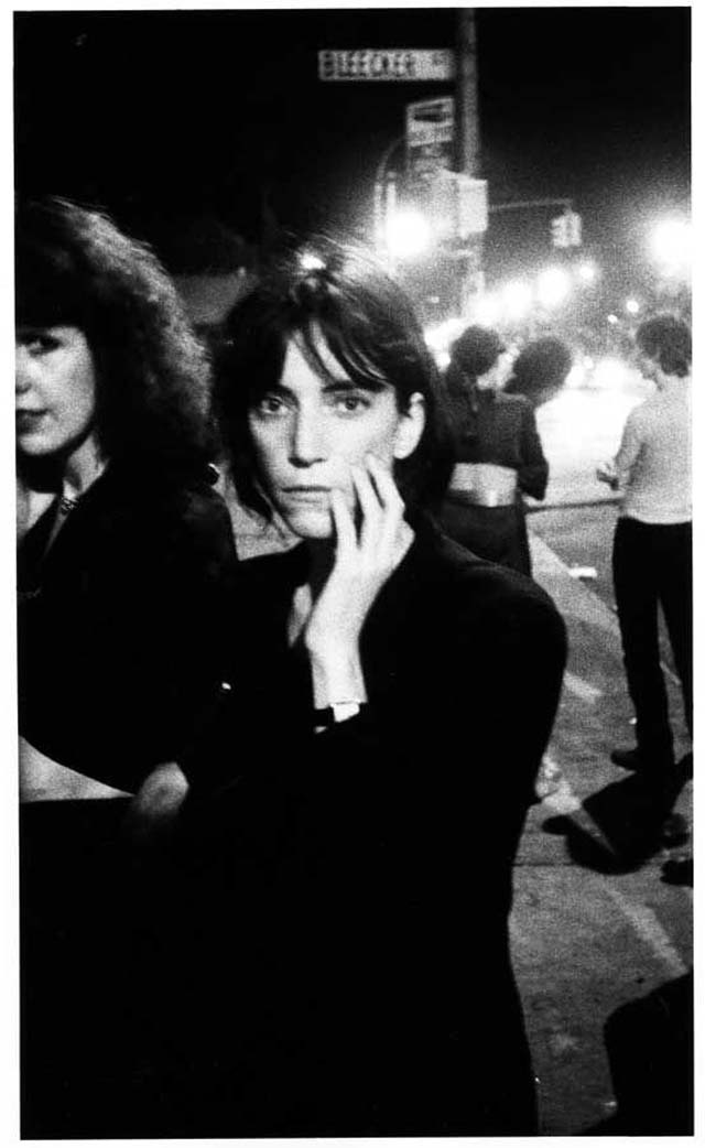 David Godlis -  Patti Smith, Bowery, 1976