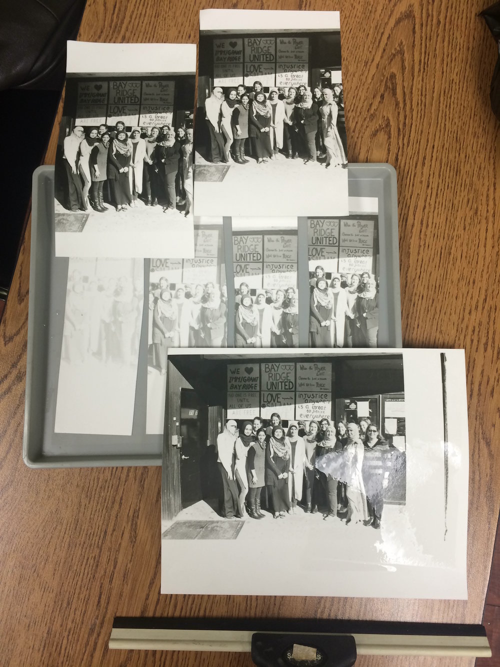 Darkroom: More test prints and strips