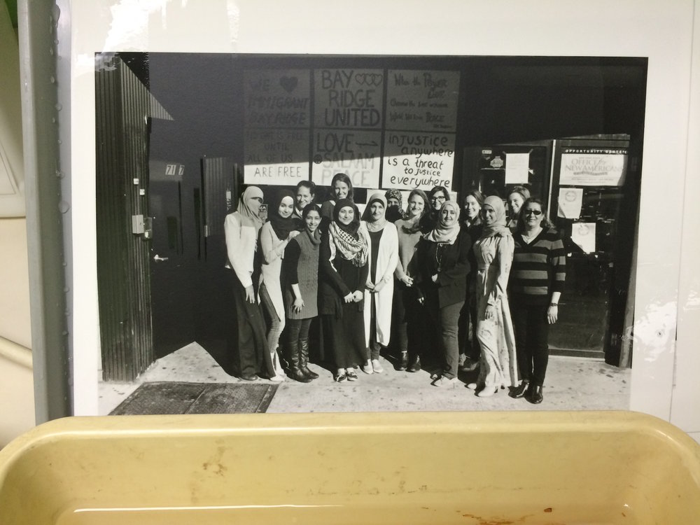 Darkroom: DONE. Far left girl needed NINE ADDITIONAL SECONDS of dodging and burning, compared to 11 seconds for the entire photo