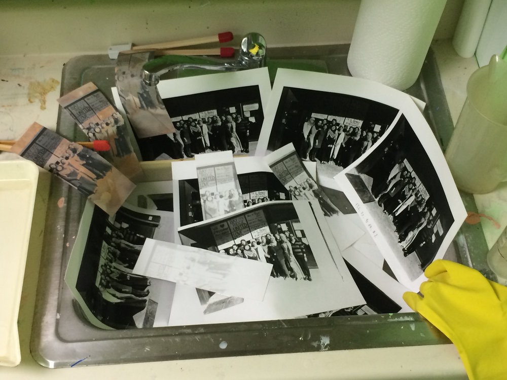 Darkroom: Start to finish washing in the sink